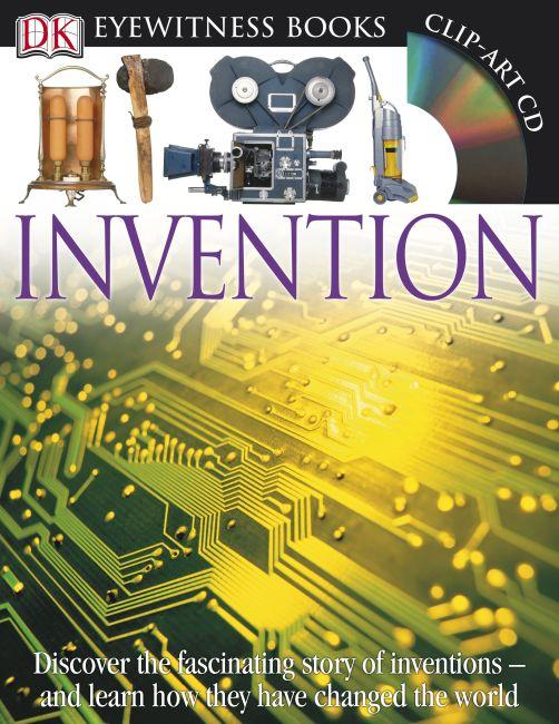 Hardback cover of DK Eyewitness Books: Invention
