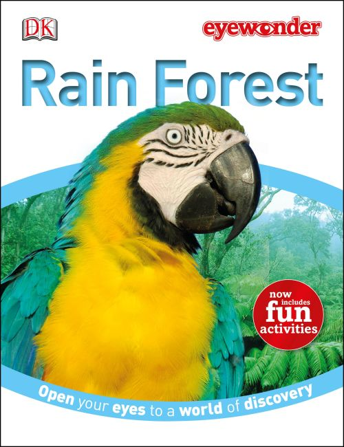 Hardback cover of Eye Wonder: Rain Forest