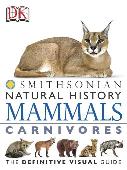 eBook cover of DK Natural History Mammals Carnivores