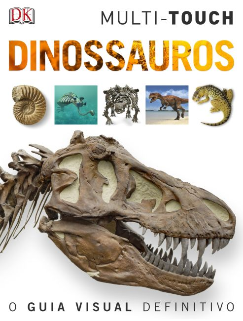 eBook cover of Dinossauros – Português