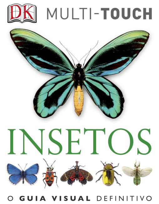 eBook cover of Insetos – Português