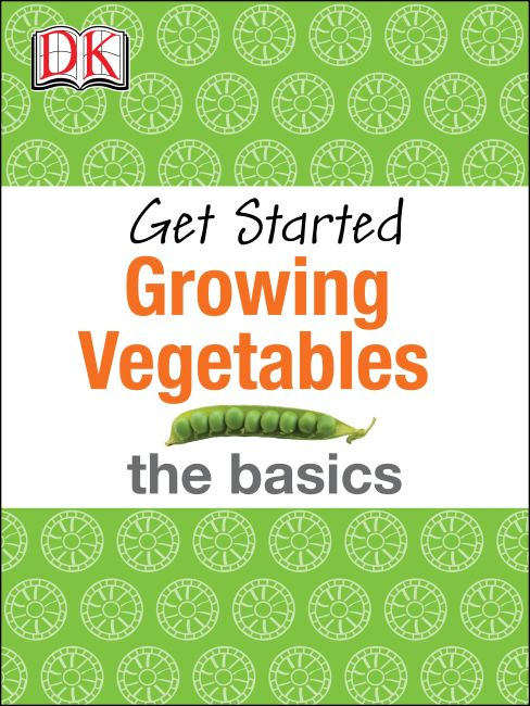 eBook cover of Get Started: Growing Vegetables