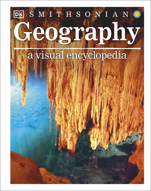 Hardback cover of Geography: A Visual Encyclopedia