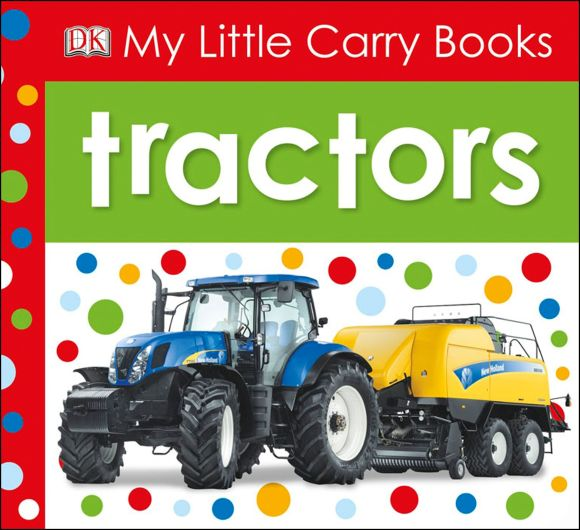 eBook cover of My Little Carry Books: Tractors