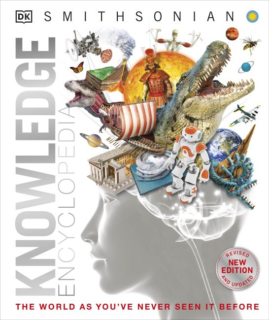 Hardback cover of Knowledge Encyclopedia (Updated and Enlarged Edition)