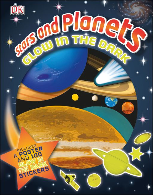 Hardback cover of Stars and Planets: Glow in the Dark