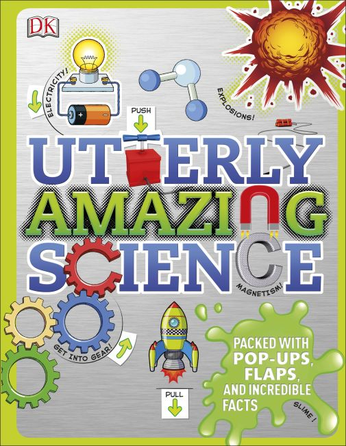 Hardback cover of Utterly Amazing Science