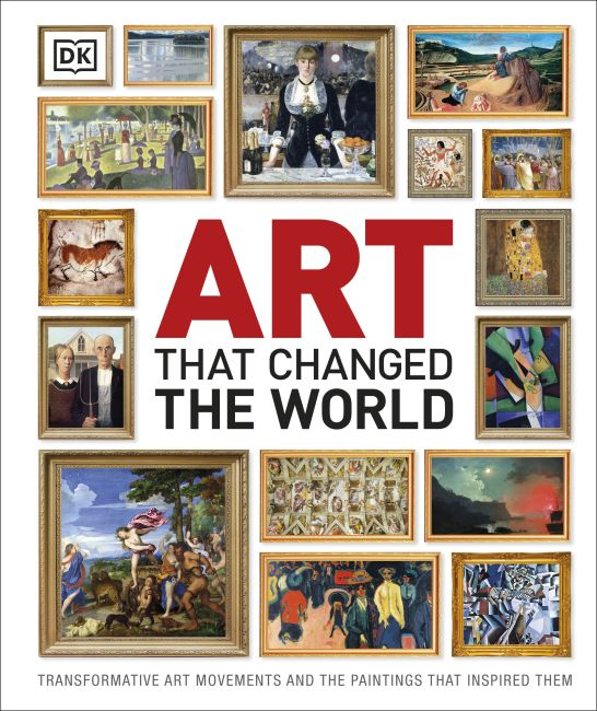 Hardback cover of Art That Changed the World