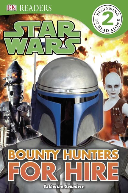 eBook cover of DK Readers L2: Star Wars: Bounty Hunters for Hire