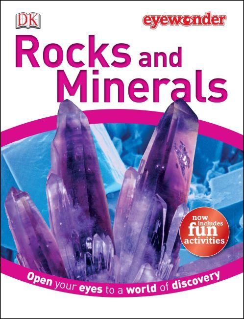 Hardback cover of Eye Wonder: Rocks and Minerals