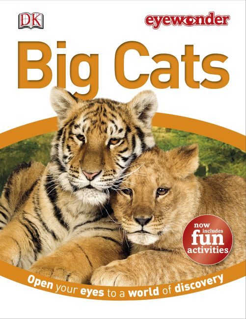 Hardback cover of Eyewonder Big Cats