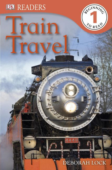 eBook cover of DK Readers L1: Train Travel