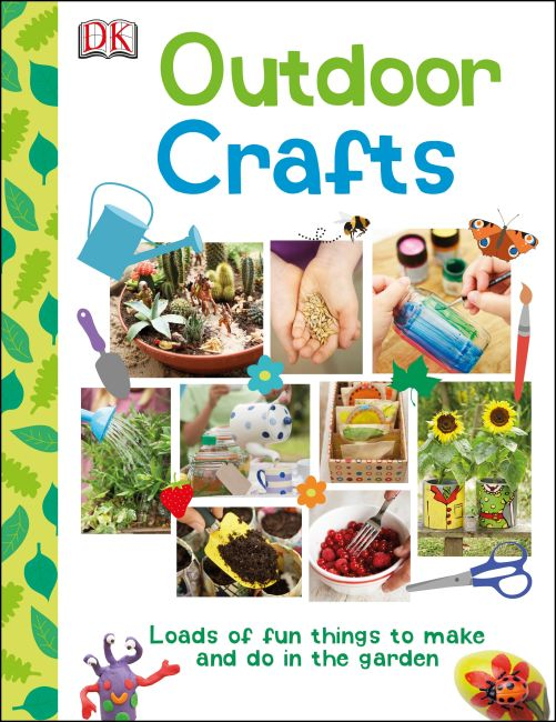 eBook cover of Outdoor Crafts