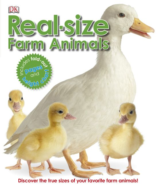 eBook cover of Real-size Farm Animals
