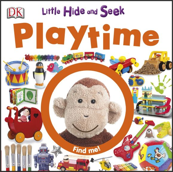 eBook cover of Little Hide and Seek: Playtime