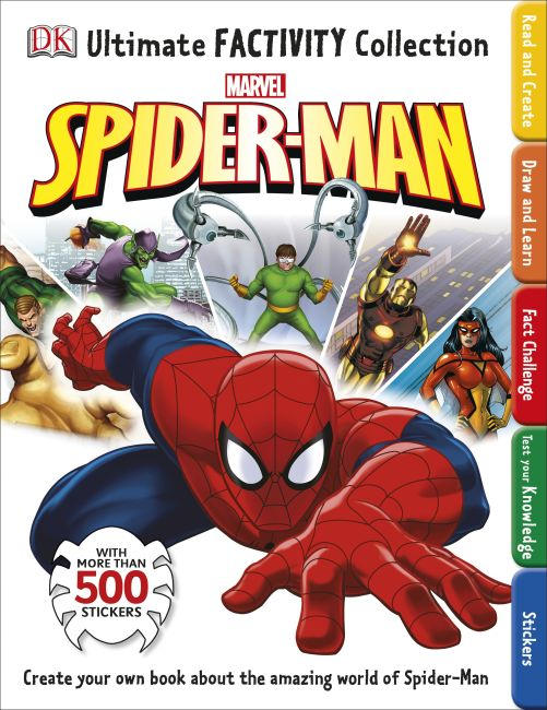 Paperback cover of Ultimate Factivity Collection: Spider-Man