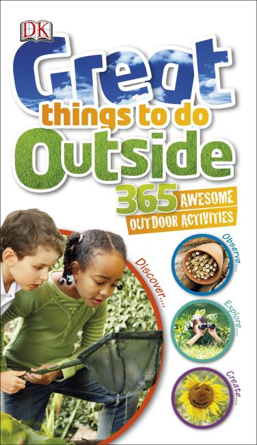 Hardback cover of Great Things to Do Outside