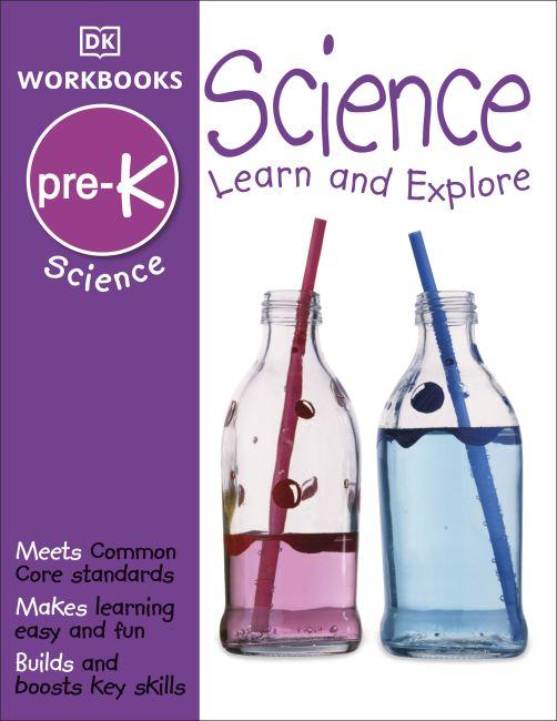 Paperback cover of DK Workbooks: Science, Pre-K