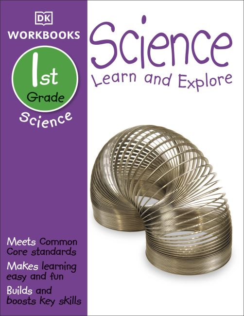 Paperback cover of DK Workbooks: Science, First Grade
