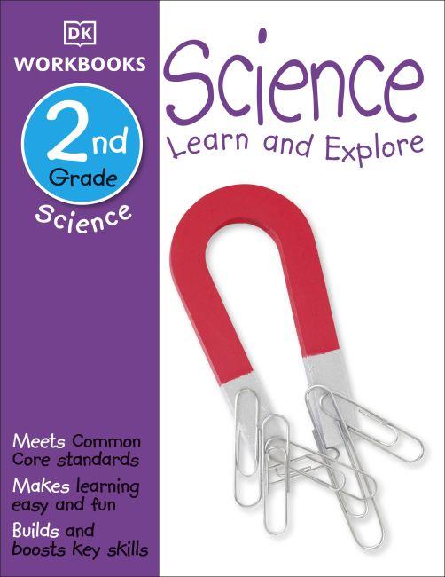 Paperback cover of DK Workbooks: Science, Second Grade