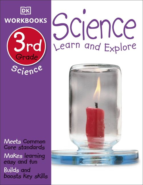 Paperback cover of DK Workbooks: Science, Third Grade