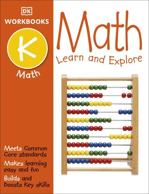 Paperback cover of DK Workbooks: Math, Kindergarten