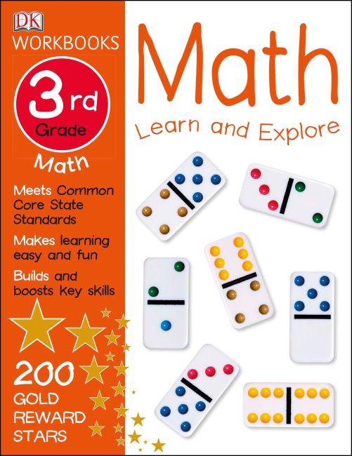 Paperback cover of DK Workbooks: Math, Third Grade