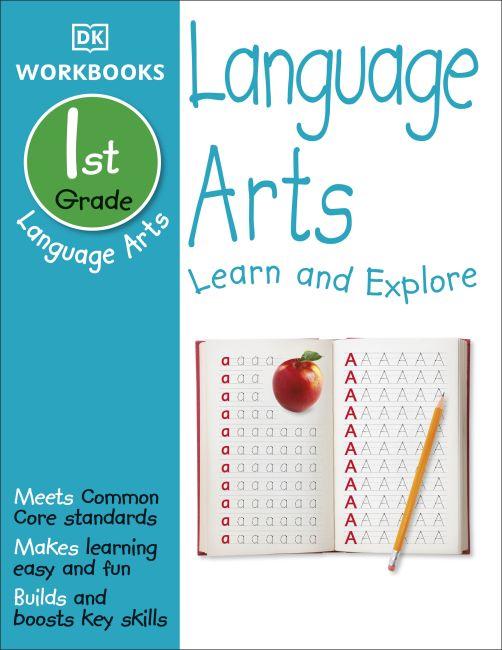 Paperback cover of DK Workbooks: Language Arts, First Grade