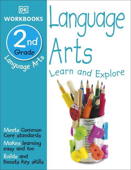Paperback cover of DK Workbooks: Language Arts, Second Grade