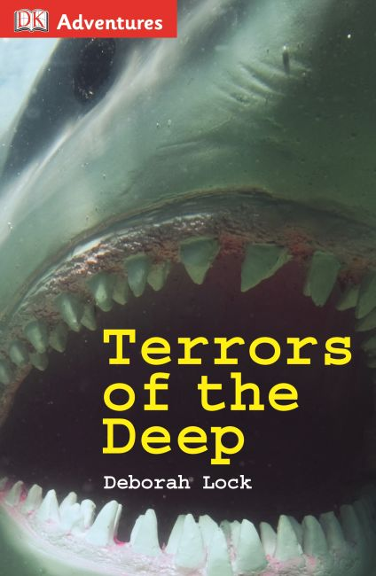 Hardback cover of DK Adventures: Terrors of the Deep