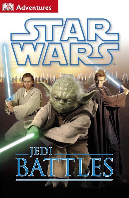 Hardback cover of DK Adventures: Star Wars: Jedi Battles