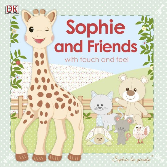 Board book cover of Sophie la girafe: Sophie and Friends