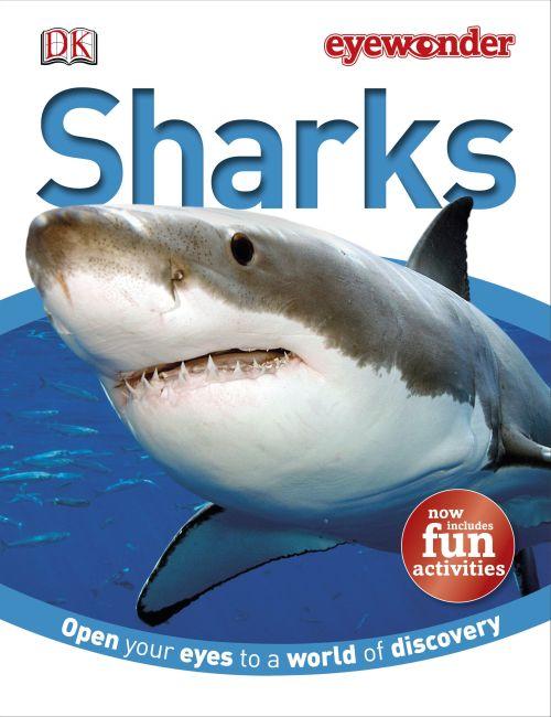 Hardback cover of Eye Wonder: Sharks