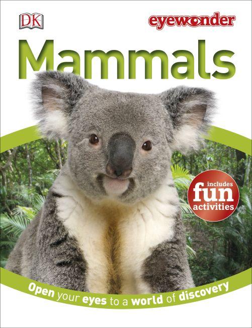 Hardback cover of Eye Wonder: Mammals