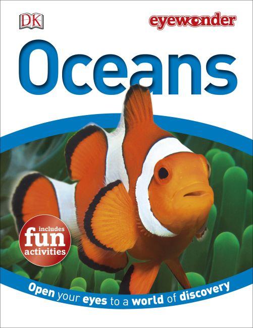 Hardback cover of Eye Wonder: Oceans