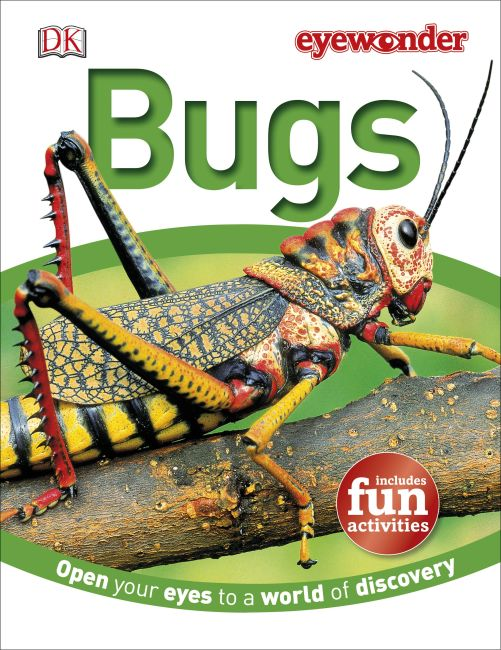 Hardback cover of Eye Wonder: Bugs