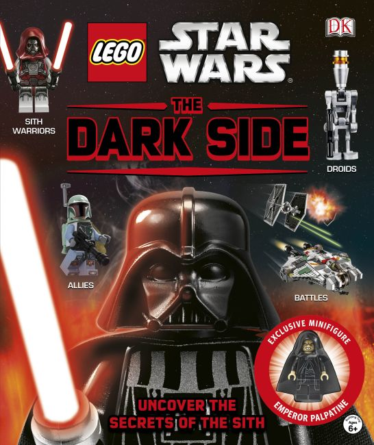 Hardback cover of LEGO Star Wars: The Dark Side