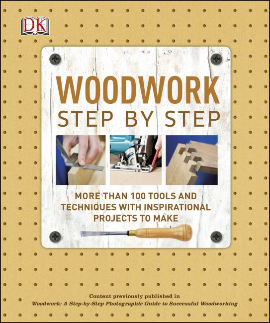 Paperback cover of Woodwork Step by Step