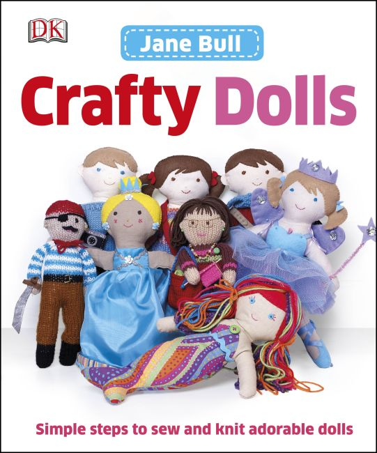 Hardback cover of Crafty Dolls