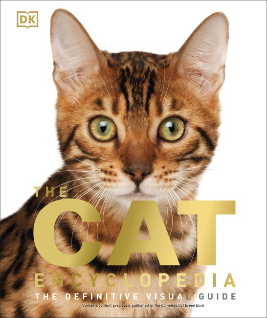 Hardback cover of The Cat Encyclopedia