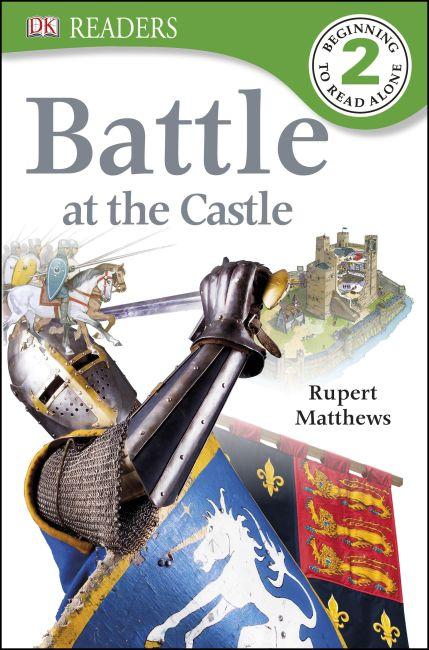 Paperback cover of DK Readers L2: Battle at the Castle