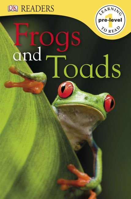 Paperback cover of DK Readers L0: Frogs & Toads