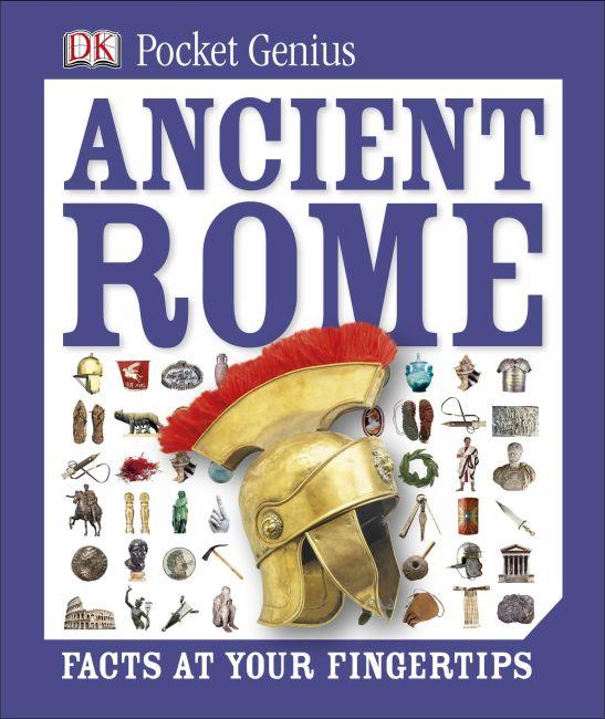 Hardback cover of Pocket Genius: Ancient Rome