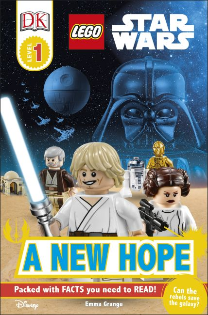 Paperback cover of DK Readers L1: LEGO Star Wars: A New Hope