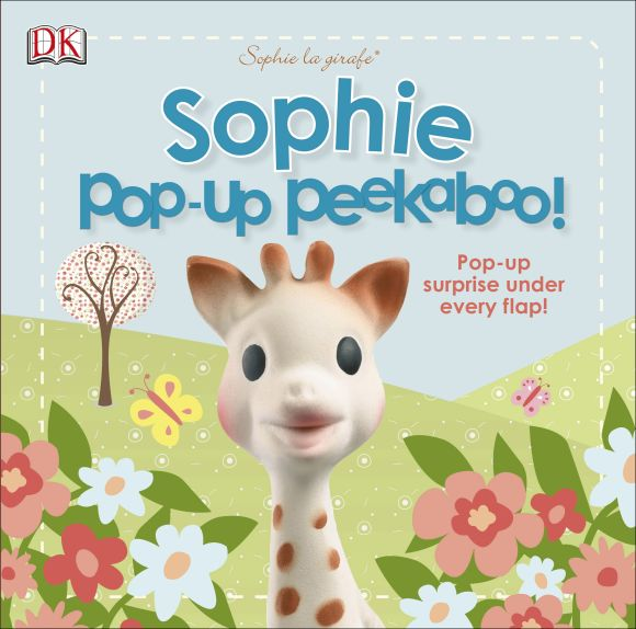 Board book cover of Sophie la girafe: Pop-Up Peekaboo Sophie!