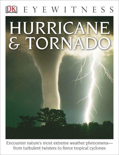 Paperback cover of DK Eyewitness Books: Hurricane & Tornado