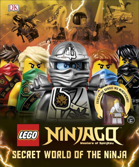 Hardback cover of LEGO® NINJAGO: Secret World of the Ninja