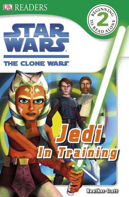 eBook cover of DK Readers L2: Star Wars: The Clone Wars: Jedi in Training
