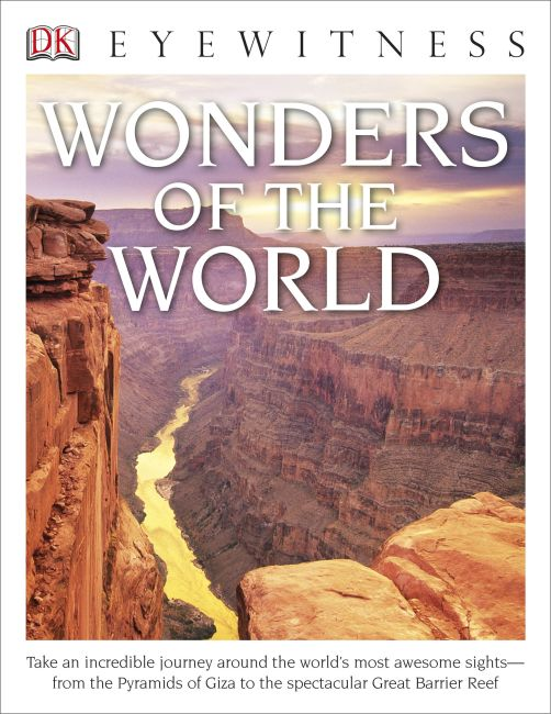 Paperback cover of DK Eyewitness Books: Wonders of the World
