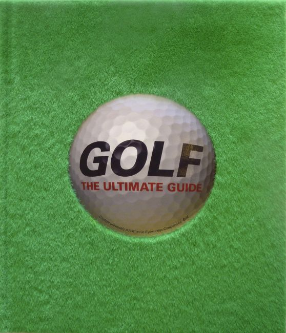 Hardback cover of Golf: The Ultimate Guide